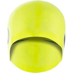 Nike Swim Big Swoosh Printed Gorro de silicona, volt